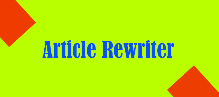 Rewrite articles content tool