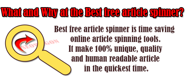 Best free article spinner