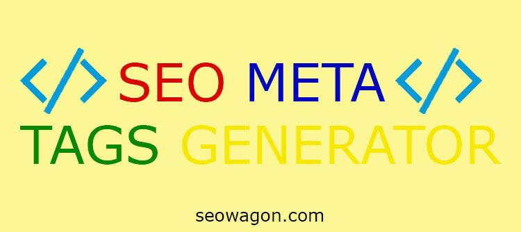 SEO Meta Tags Generator